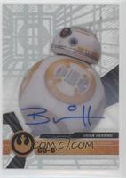 The Force Awakens Signers - Brian Herring, BB-8