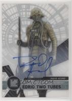 Rogue One Signers - David Acord,  Edrio Two Tubes