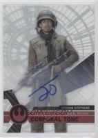 Rogue One Signers - Jordan Stephens, Corporal Tonc