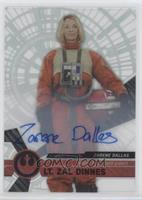 Rogue One Signers - Zarene Dallas, Lt. Zal Dinnes