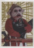 Form 1 - Nien Nunb [EX to NM] #/50