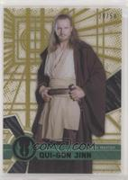 Form 1 - Qui-Gon Jinn [EX to NM] #/50