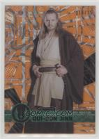 Form 1 - Qui-Gon Jinn [EX to NM] #/25