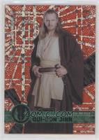 Form 1 - Qui-Gon Jinn [EX to NM] #/5