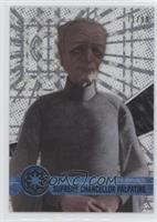 Form 1 - Supreme Chancellor Palpatine #/99