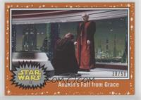 Anakin's Fall from Grace #/50