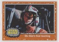 Obi-Wan's final teaching #/50