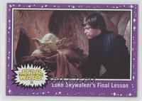 Luke Skywalker's Final Lesson