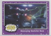 Destroying Starkiller base