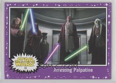 2017 Topps Star Wars: Journey to The Last Jedi - [Base] - Purple Starfield #59 - Arresting Palpatine