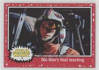 Obi-Wan's final teaching