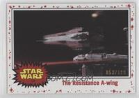 The Resistance A-Wing #/199