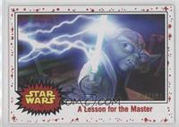 A Lesson for the Master #/199
