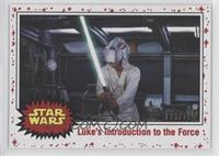 Luke's introduction to the Force #/199