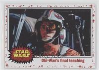 Obi-Wan's final teaching #/199
