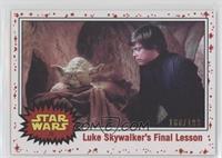 Luke Skywalker's Final Lesson #/199