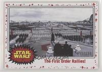 The First Order Rallies! #/199