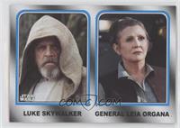 Luke Skywalker, General Leia Organa