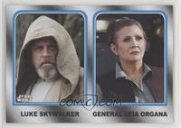 Luke Skywalker, General Leia Organa