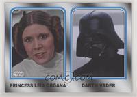 Princess Leia Organa, Darth Vader