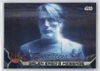 Galen Erso's Message