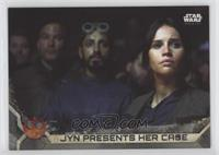 Jyn presents her Case #/100