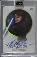 Matt Lanter as Anakin Skywalker /40 [Uncirculated]