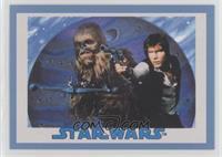 Chewbacca, Han Solo #/75