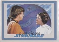 Luke Skywalker, Leia Organa #/75