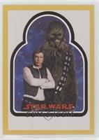 Han Solo, Chewbacca #/25