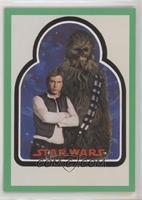 Chewbacca, Han Solo #/40