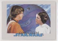 Luke Skywalker, Leia Organa