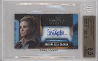 Carrie Fisher as General Leia Organa /10 [BGS 9.5 GEM MINT]