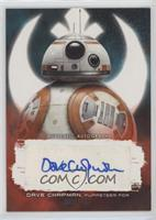 Dave Chapman as Puppeteer for BB-8 #/99