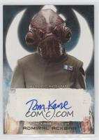 Tom Kane as Admiral Ackbar