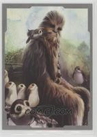 Chewbacca, Porgs #/99