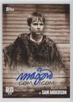 Major Dodson as Sam Anderson #/10
