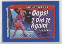 Britney Spears Oops! I Did It Again! Diapers