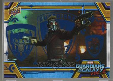 2017 Upper Deck Guardians of the Galaxy Volume 2 - [Base] - Blue #0 - Master Set Achievement - Star-Lord