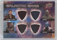 Star-Lord, Rocket, Drax, Yondu