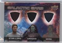 Star-Lord, Gamora, Drax