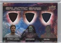 Star-Lord, Gamora, Drax
