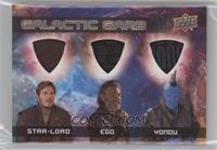 Star-Lord, Ego, Yondu