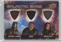 Star-Lord, Ego, Mantis