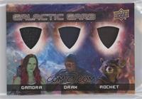 Gamora, Drax, Rocket
