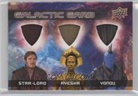 Star-Lord, Ayesha, Yondu