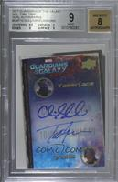 Chris Sullivan, Tommy Flanagan [BGS 9 MINT]