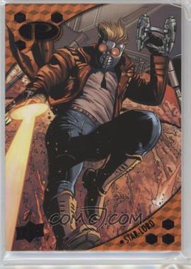 2017 Upper Deck Marvel Premier - [Base] - Black Foil #10 - Star-Lord /5