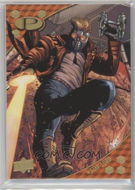 2017 Upper Deck Marvel Premier - [Base] - Gold Foil #10 - Star-Lord /10