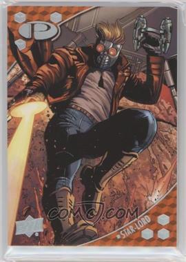 2017 Upper Deck Marvel Premier - [Base] #10 - Star-Lord /125